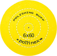 Polishing Buff Pollinex Sarı