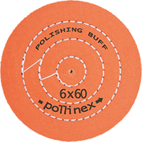 Polishing Buff Pollinex Turuncu